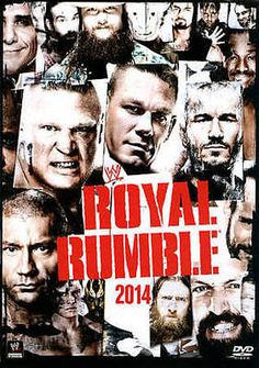WWE: ROYAL RUMBLE 2014 NEW DVD