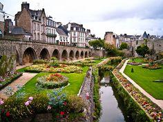 Village Gardens, Vannes, France