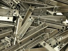 V&F Sheet Metal manufacture thousands of designs of angle brackets for their UK customers. In aluminium, stainless steel and mild steel in various sizes, gauges and finishes. Cnc Press Brake, Sheet Metal Work, Bending, Gauges, Metal Working, It Is Finished, Stainless Steel, Projects, Design