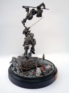 """A sequel to GBWC 2015 diorama """"Another Late Night""""- VERY EARLY MORNING"""