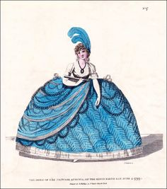 From about the middle of the to the ascension of King George IV in English ladies found the expectations of court dress at g. Historical Costume, Historical Clothing, Historical Fiction Authors, King George Iv, 19th Century Fashion, 18th Century, Court Dresses, Regency Era, Illustrations