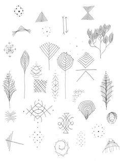 tattoo idea minimalism  plant