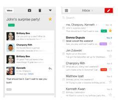 stor opdatering til Gmail app