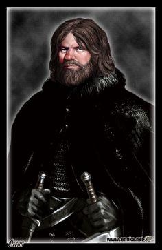 Grenn - Irmão Juramentado a Patrulha da Noite e grande amigo de Jon Snow