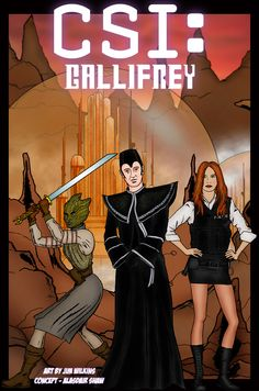 In Print Comic: CSI: GALLIFREY  Highly Recommended ~   In Print's new strip:  http://www.inprintcomic.com/2012/05/csi-gallifrey.html
