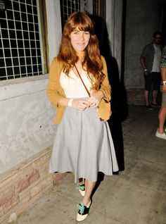 Is that Jenny Lewis? Should I switch up the laces in my omni-present saddle shoes?