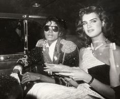 Brooke Shields, a legend for decades (here, in 1984, with Michael Jackson at the 26th Annual Grammy Awards). See 49 more vintage images of the timeless beauty.