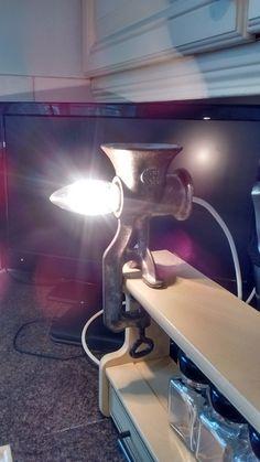 Spong Mincer Lamp by FauconbergVintage on Etsy