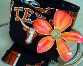 Girls University of Texas Flower Power Belt
