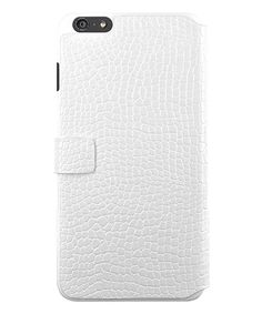 Look at this KENZO White Crocodile iPhone Case on #zulily today!