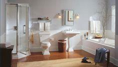 American Standard's Responsible Bathroom - Inspiration - Beautifully Efficient Bathrooms