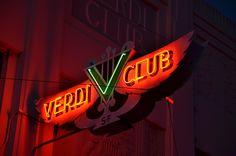 """San Francisco Neon"" Randall Ann Homan + Al Barna | Verdi Club, 2014"