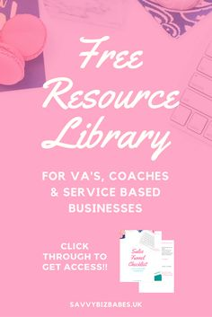 Get access to free business resources to get more clients and make money online!  Virtual assistant business | entrepreneur tips | coaching clients | service business | Join now and get instant access to: Profitable Sales Funnel Planner, Email Marketing Checklist,  How to Set Positive Goals, Startup Finance Checklist, Mid Year Review. Click through to view or save for later.