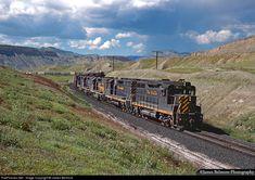 RailPictures.Net Photo: DRGW 3018 Denver & Rio Grande Western Railroad EMD GP30 at Thompson Springs, Utah by James Belmont