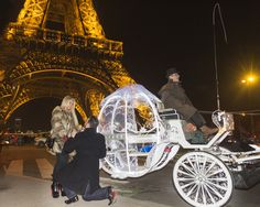 Ready to pop the question in Paris? ApoteoSurprise, the marriage proposal planner in Europe, offers 30 outstanding proposal packages to amaze your beloved in Paris. Cinderella Carriage, Ready To Pop, Marriage Proposals, Paris, This Or That Questions, Collection, Inspiration, Cinderella, Biblical Inspiration