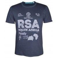 Proudly RSA T-Shirt - Charcoal