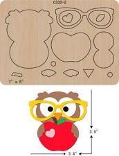 New Owl Wooden die Scrapbooking Cutting Dies - Kids&Baby Toys Felt Animal Patterns, Stuffed Animal Patterns, Owl Crafts, Paper Crafts, Felt Owls, Felt Fairy, Barrettes, Applique Patterns, Felt Ornaments