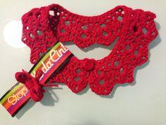 Cuello de cinta realizado en #crochet, preparado para ser regalado ;)