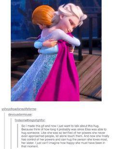 Relationship between Elsa / Anna - Frozen meme
