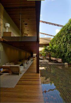 Indoor / Outdoor Restaurant design.