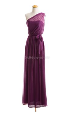Gorgeous Grape Long Bridesmaid Dresses,Long Bridesmaid Dress
