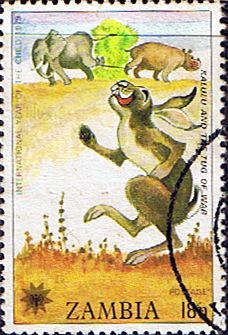 Postage stamps of Zambia 1979 International Year of the Child Set Fine Used SG 287 Scott  196  Other Zambia Stamps HERE
