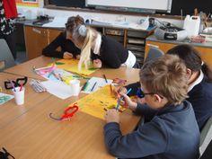 Participants working together at St. Margaret's. #artchangeslives #regeneration