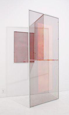 """Lisa Sigal """"Hinged Painting"""""""