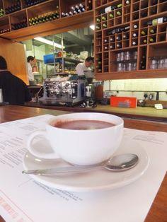 Hot Chocolate at Tapas Brindisa, London, UK