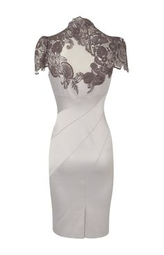 Karen Millen Floral Applique Silver Dress_2.jpg (900×1400)