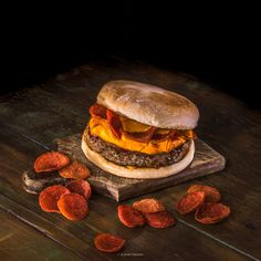 Shrimp Burger, Photo Food, Hamburger, Ethnic Recipes, Photos, Handmade Burger, Gourmet, Recipes, Social Networks