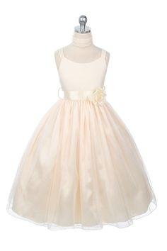 http://childrensdressshop.com/home/628-elegant-satin-glitter-mesh-flower-girl-dress-in-ivory.html  sparkle glitter skirt