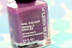Sonia Kashuk Sitting Pretty Nail Colour