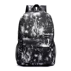 teenage backpacks for boys school bags space lights backpack for teenagers fashion men daily back bags black rukzag blue WM171YL