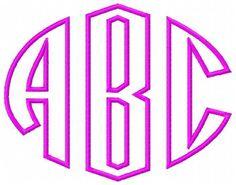 Applique Letter Fonts   Vintage Monogram Applique Embroidery Font Designs