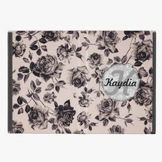 Awesome! This Trendy Chic White and Black Vintage Floral Monogram iPad Mini Cases is completely customizable and ready to be personalized or purchased as is. It's a perfect gift for you or your friends.