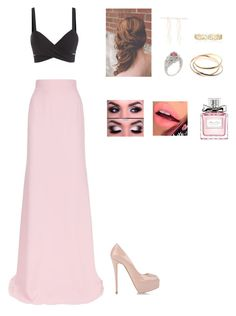"""""""Untitled #308"""" by cristina-974 on Polyvore featuring Antonio Berardi, Cartier, Forever 21, Effy Jewelry, Fiebiger, Giuseppe Zanotti and Christian Dior"""