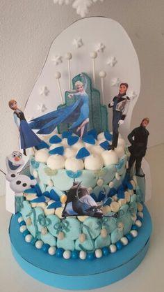 Tarta Frozen golosinas Facebook/malakoss
