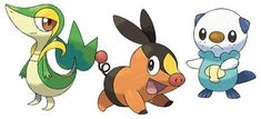 three pokemon