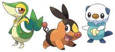 three pokemon