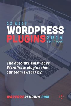 There are literally thousands of WordPress plugins. In this post, we're highlighting a few of the best, most-loved, most important WordPress plugins available.: