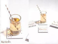 DIY Untersetzer Glas
