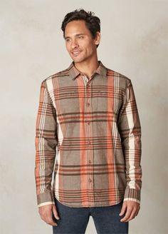 Brown Delaney Flannel   Men > Tops > Shirts