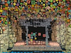 Broadway's Matilda set design
