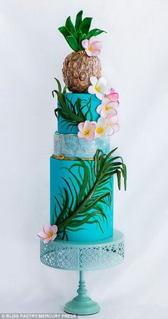 Hawaii http://www.dailymail.co.uk/news/article-2749086/Around-world-40-cakes-Amazing-edible-creations-landmarks-Taj-Mahal-pyramids-Egypt-sculpted-sponge.html