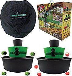 BULZiBUCKET Beach, Tailgate, Camping, and Yard Game Indoor/Outdoor by Kid Agains ** You can find more details by visiting the image link. Lawn Games, Backyard Games, Outdoor Games, Outdoor Play, Indoor Outdoor, Outdoor Activities, Backyard Ideas, Fun Activities, Outdoor Living