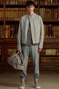 Trussardi Spring 2016 Menswear Fashion Show: Complete Collection - Style.com