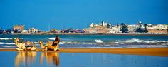 Visit  #EssaouiraDayTourFromMarrakech it is a relaxing drive to the Atlantic shoreline and the former Portuguese stronghold of Essaouira.