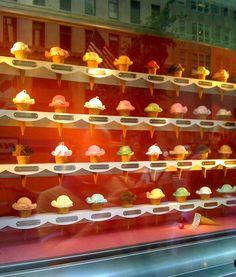 Tiffany's window display...