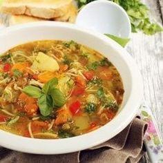 Minstrone Soup-Italian Soup Recipe